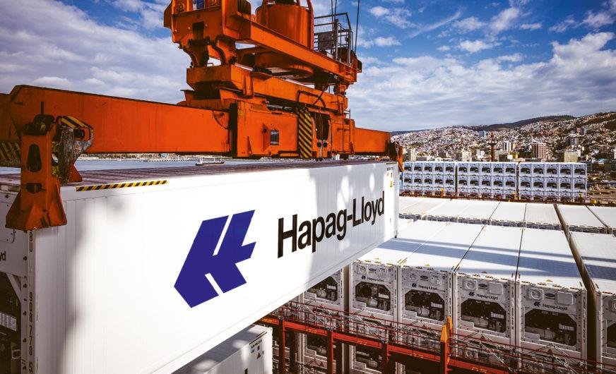 Hapag Lloyd: Reefer-Flotte wächst um knapp 26.000 TEU