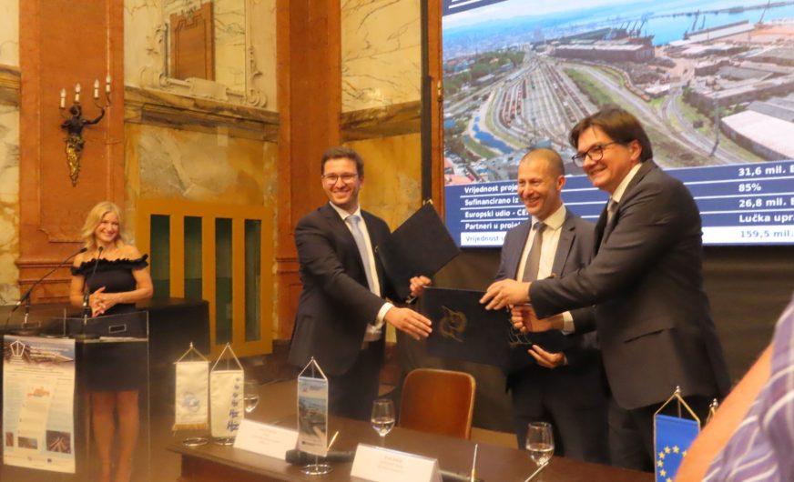 Hafen Rijeka bekommt Verbesserung der intermodalen Infrastruktur