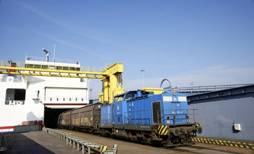 25 Jahre Eisenbahnfährverkehr Rostock-Trelleborg