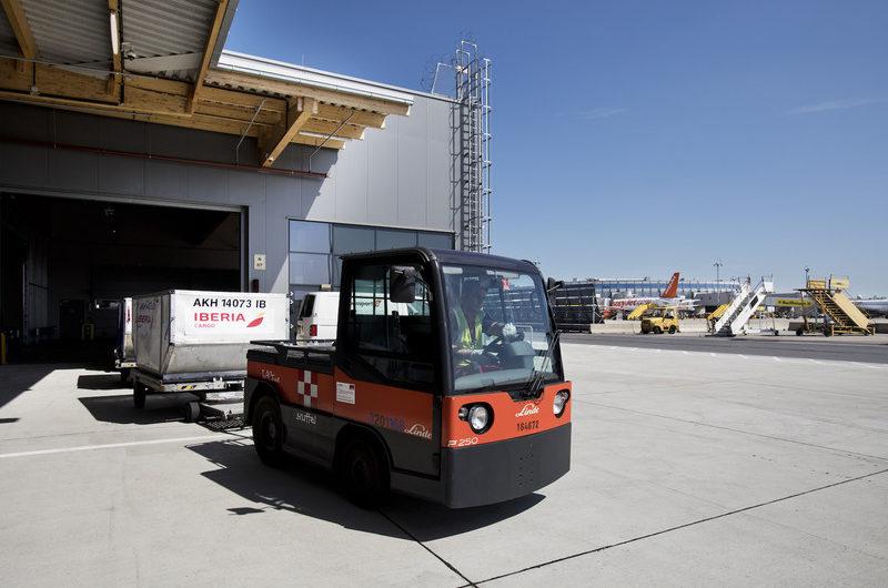 Swissport eröffnet zweites Lager am Flughafen Wien