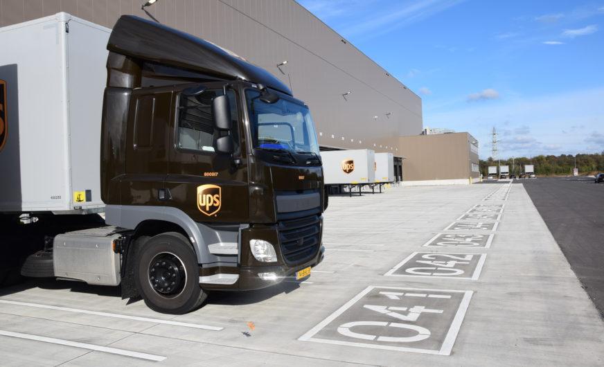 UPS ergänzt europäisches Netzwerk um einen Superhub in Eindhoven, Niederlande