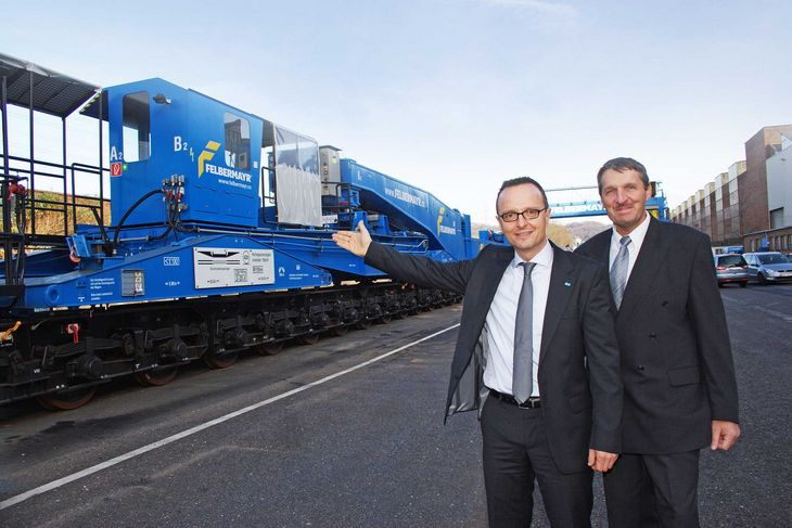ITB/Felbermayr: 25 Jahre Schwerguttransporte auf der Schiene