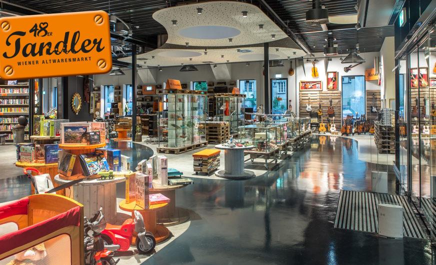 48er-Tandler in Wien verkauft jetzt auch IT Geräte wie Laptops, PCs und Drucker