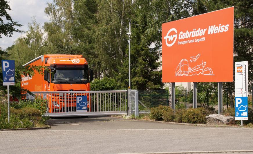 Bosch Secure Truck Parking erhält Unterstützung durch dritten GW-Standort