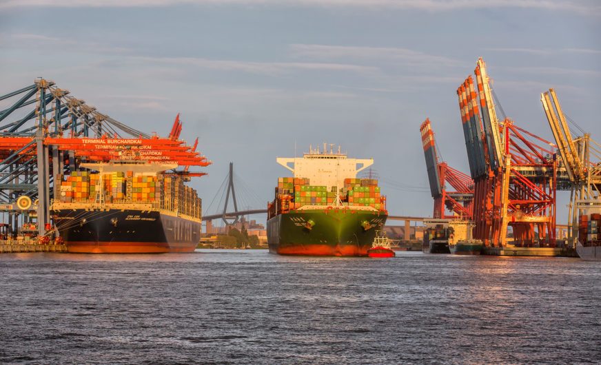 Port of Hamburg is gaining market share in container handling
