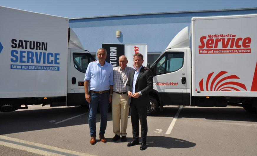 Erstes eigenes Logistik-Standbein für MediaMarktSaturn in Österreich