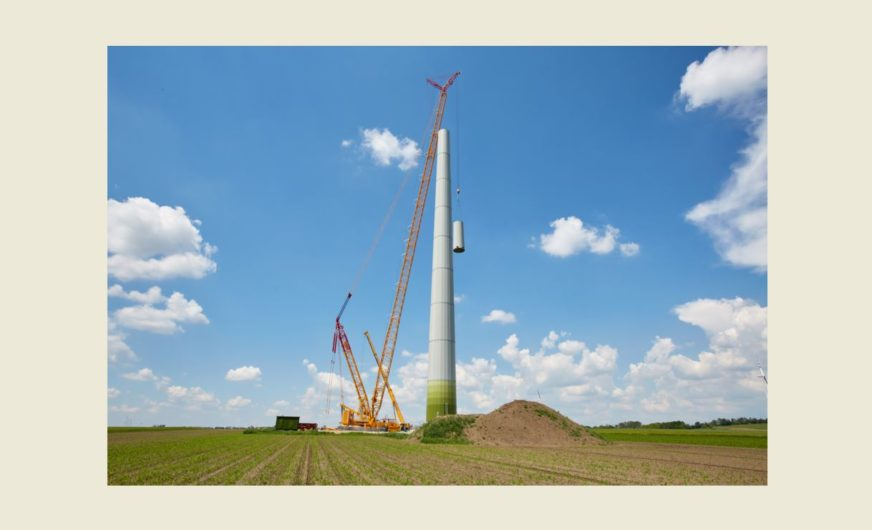 Prangl's pioneering project in the wind energy sector