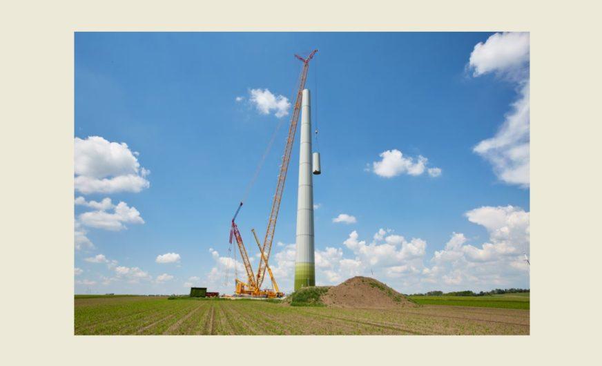 Prangl-Pionierprojekt im Bereich der Windenergieanlagen