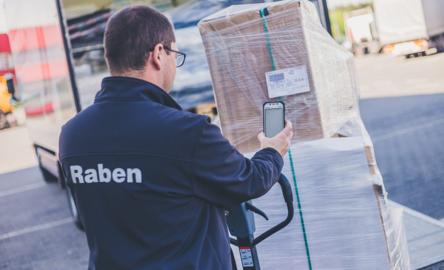 Raben Group equips its truck fleet with 5,500 Panasonic handhelds