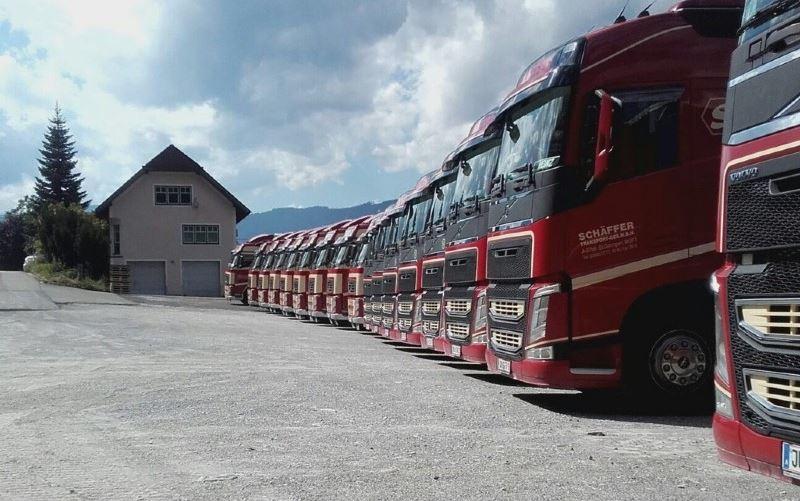 Schäffer Transport from Styria is insolvent