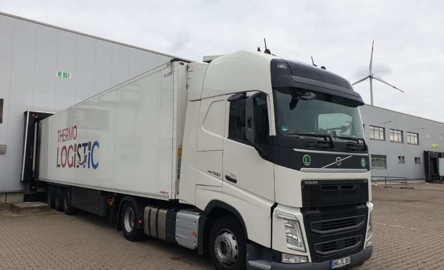 Thermologistic: Second location in Germany