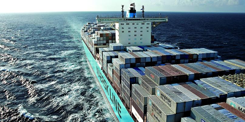 Maersk erhöht die  logistische Fertigungstiefe
