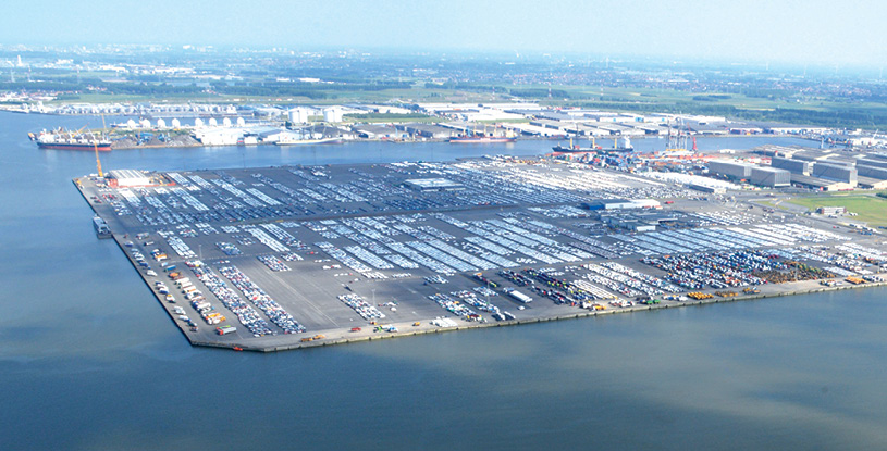 RoRo-Hafen Antwerpen  nimmt Fahrt auf