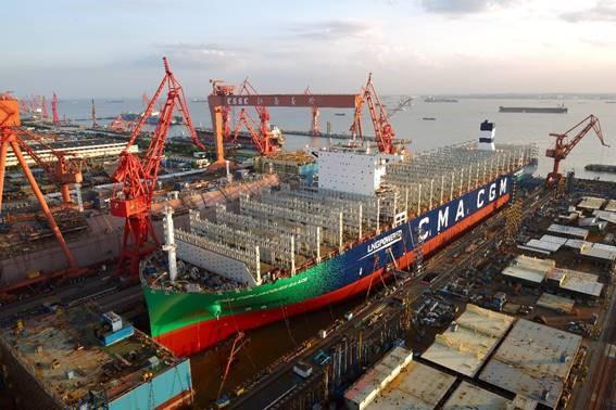 CMA CGM: Erstes LNG-Schiff mit 23.000 TEU Kapazität