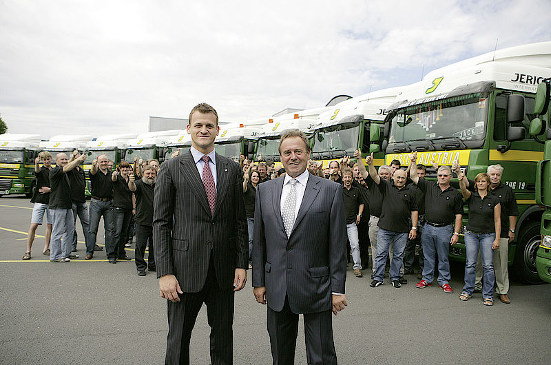 Jerich International aus Gleisdorf feiert 50 Jahre steirische Logistik-Power