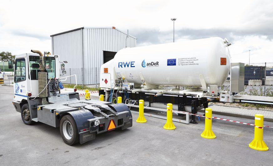 Hafen Duisburg: Erster Schritt zu einer LNG-Infrastruktur