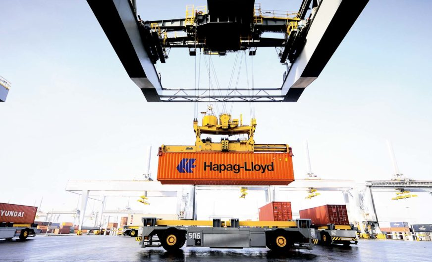 Hapag-Lloyd startet Online-Seefrachtversicherung