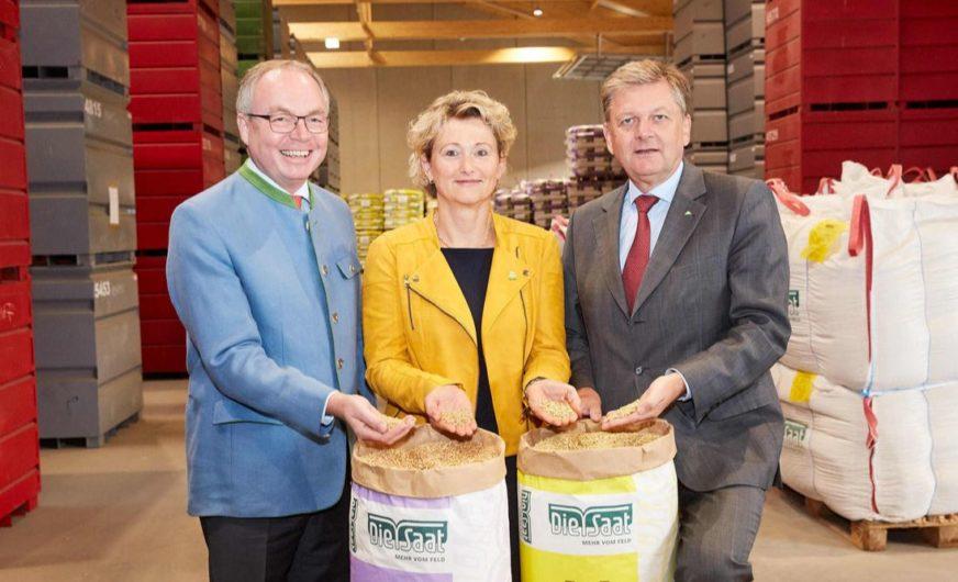 Neues Bio-Saatgutwerk der RWA in Korneuburg feierlich eröffnet