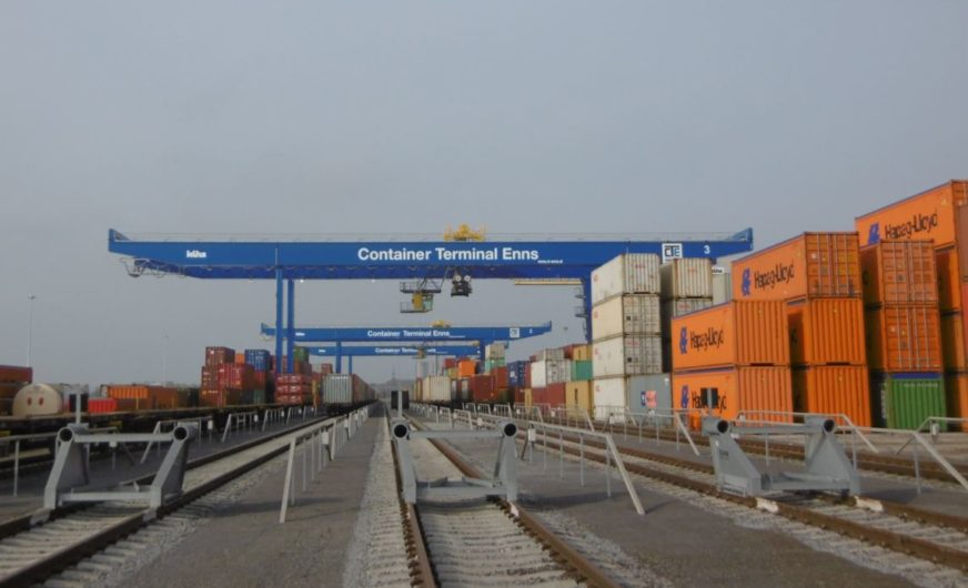 Container Terminal Enns: New module is ready to go