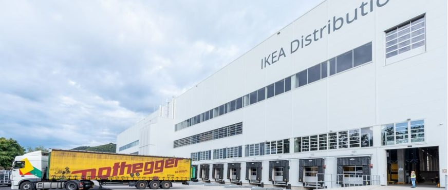 Ikea Logistics Center Vienna officially opened