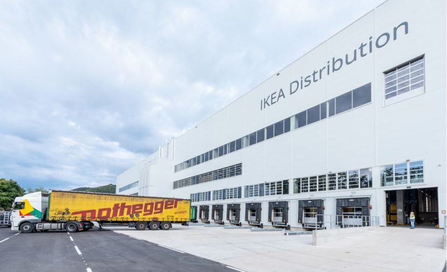 Ikea Logistikzentrum Wien feierlich eröffnet