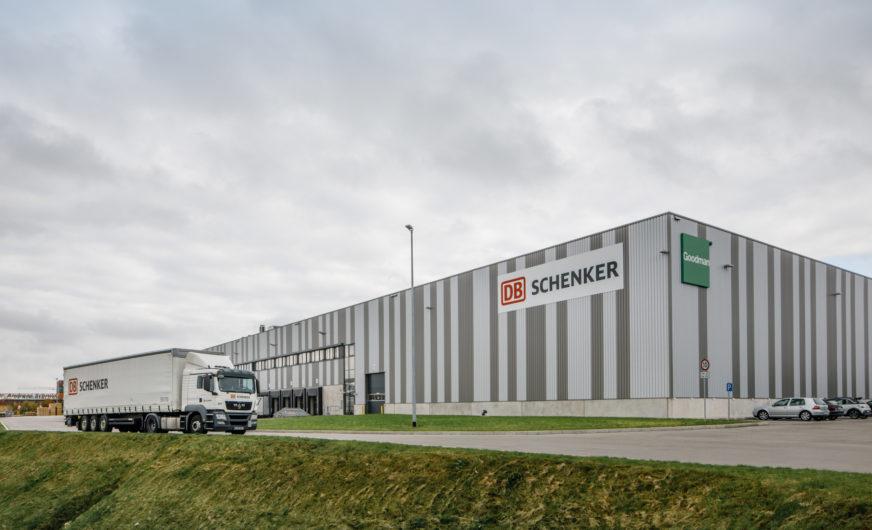 DB Schenker opens logistics hub in GVZ Augsburg