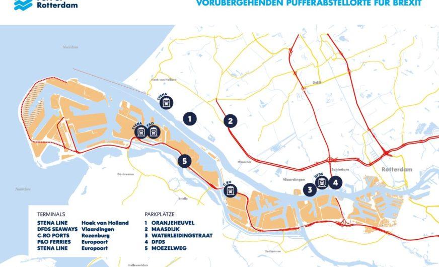 Hafen Rotterdam: Maßnahmenpaket für einen No-Deal-Brexit