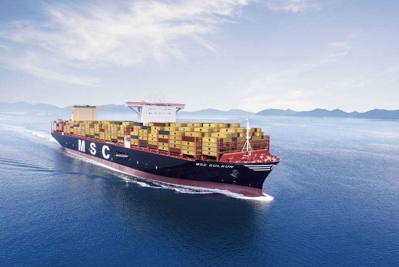MSC will not use the Northern Sea Route between Europe and Asia