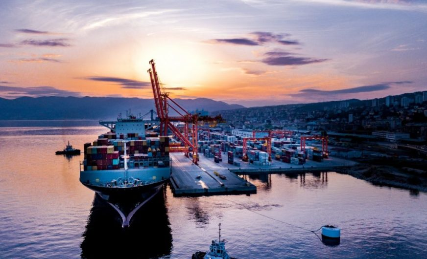 """Rijeka Land Sea Express"" to support Cosco Shipping Lines"