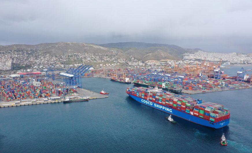 Hafen von Piräus: Investitionen in der Höhe von 611,8 Mio. Euro genehmigt
