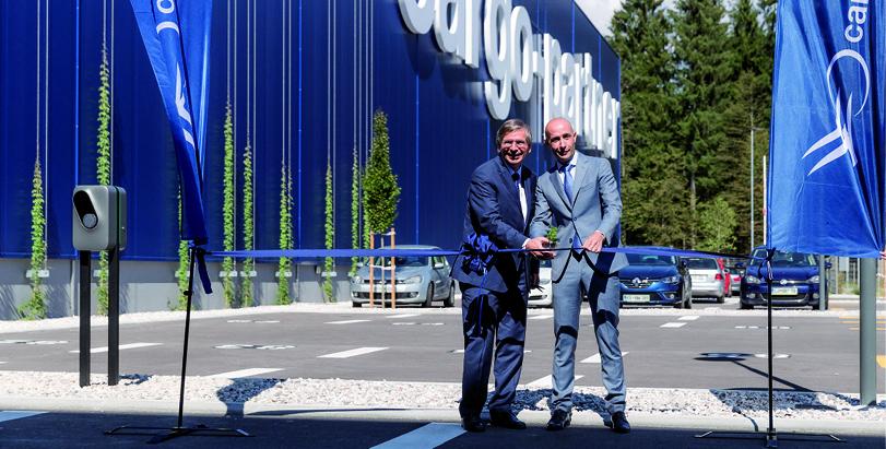 Große Freude bei cargo-partner:  iLogistics Center Ljubljana geht in Betrieb