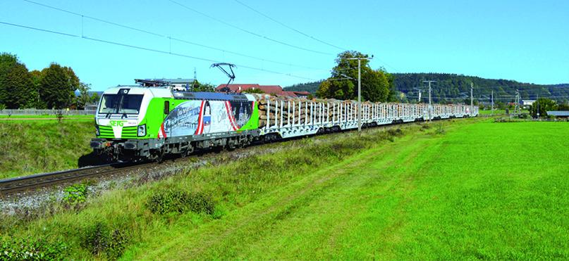Die S-Rail GmbH Österreich  ist auf Schiene