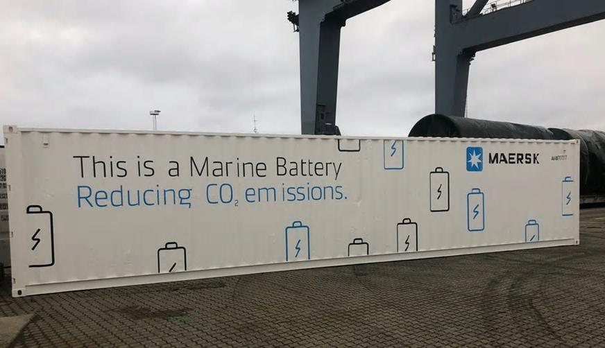 Maersk testet System zur Elektrifizierung der Flotte