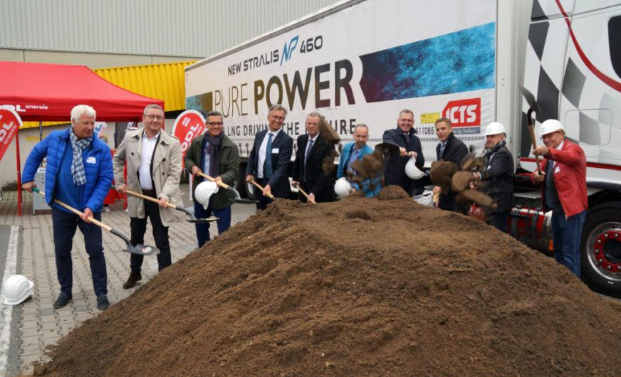 BayWa AG und Rödl energie bauen LNG-Tankstelle im bayernhafen Nürnberg