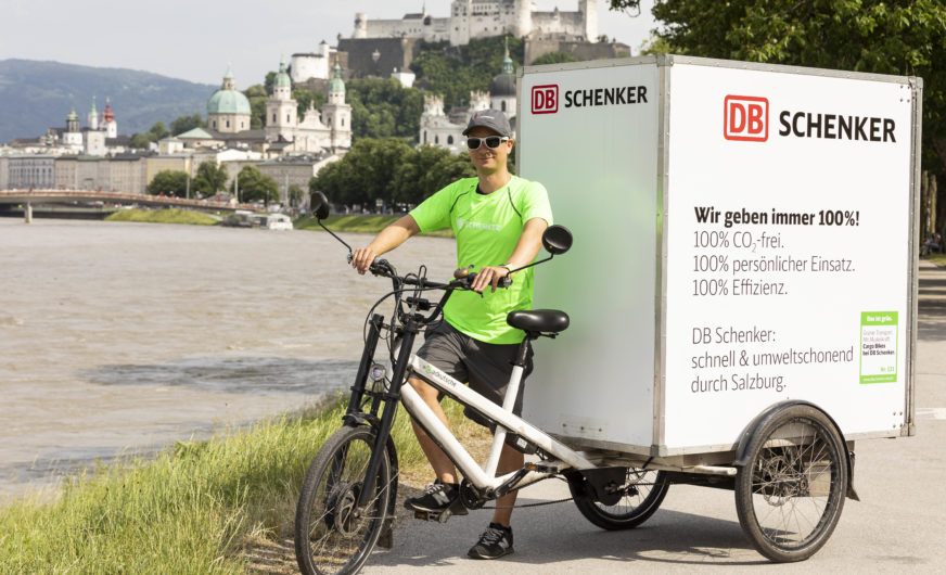 "DB Schenker startet mit ""Green City Logistik"" in Salzburg"
