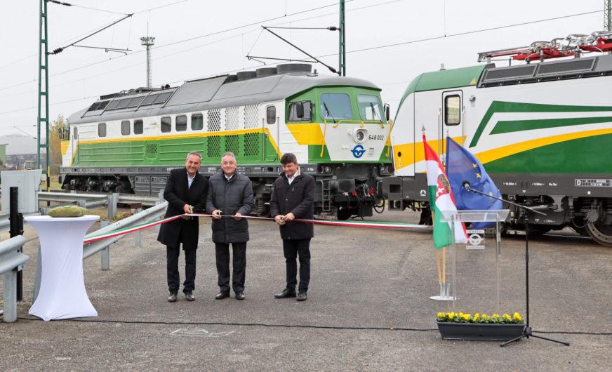 Erste eigene Lokomotiven bei der Güterbahn Gysev Cargo