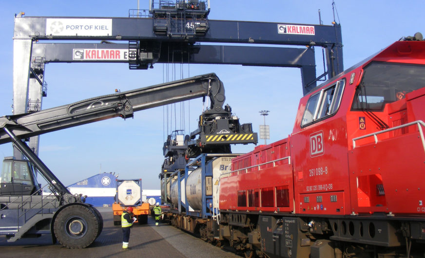 Kiel seaport is ready for longer train lengths