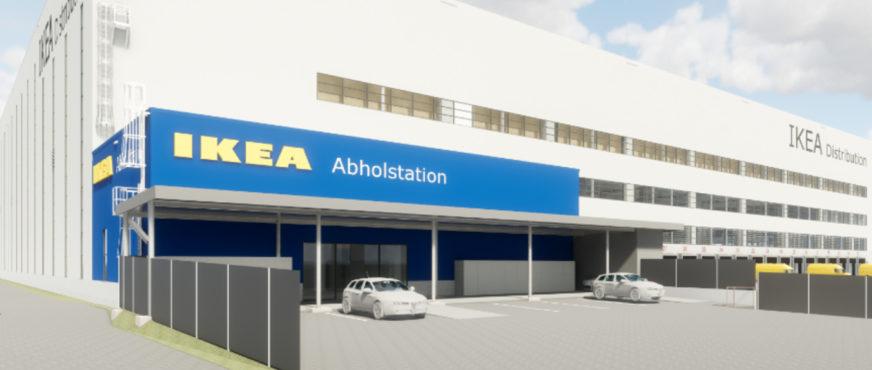 Jetzt auch eine Abholstation im Wiener Logistikzentrum von Ikea