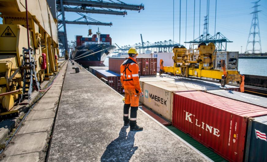 Hafen Antwerpen: Starkes Wachstum im Segment Container