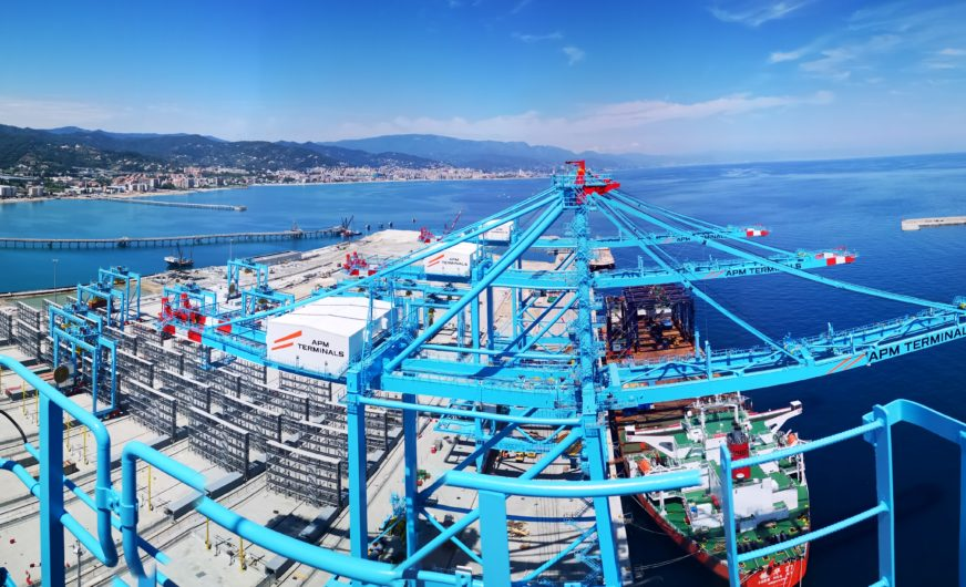 Vado Gateway sorgt für neue Hafenlogistik-Maßstäbe in Norditalien