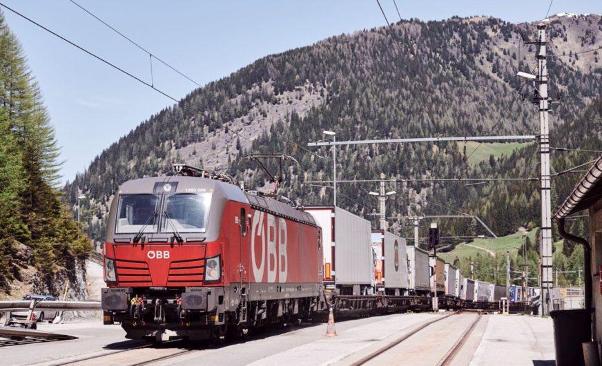 Tirol: ÖBB Rail Cargo Group erhöht Kapazität auf der Rollenden Landstraße