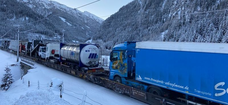 Brenner-ROLA: At least 1,000 fewer trucks on Tyrol's roads every day