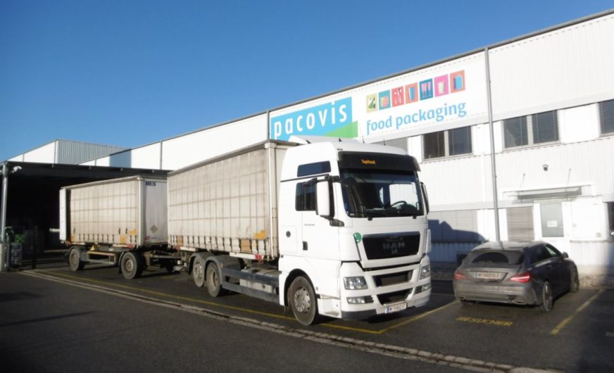 Pacovis Österreich baut moderne Logistikzentrale in Stockerau