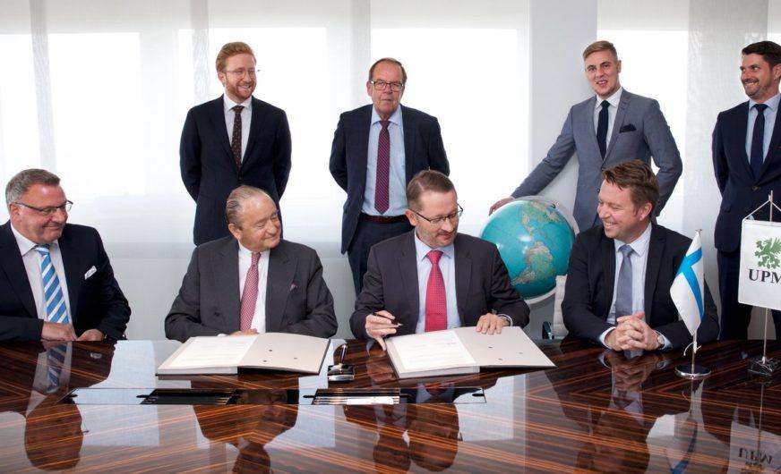 UPM Kymmene: Vertragsverlängerung mit Anker Schifffahrt