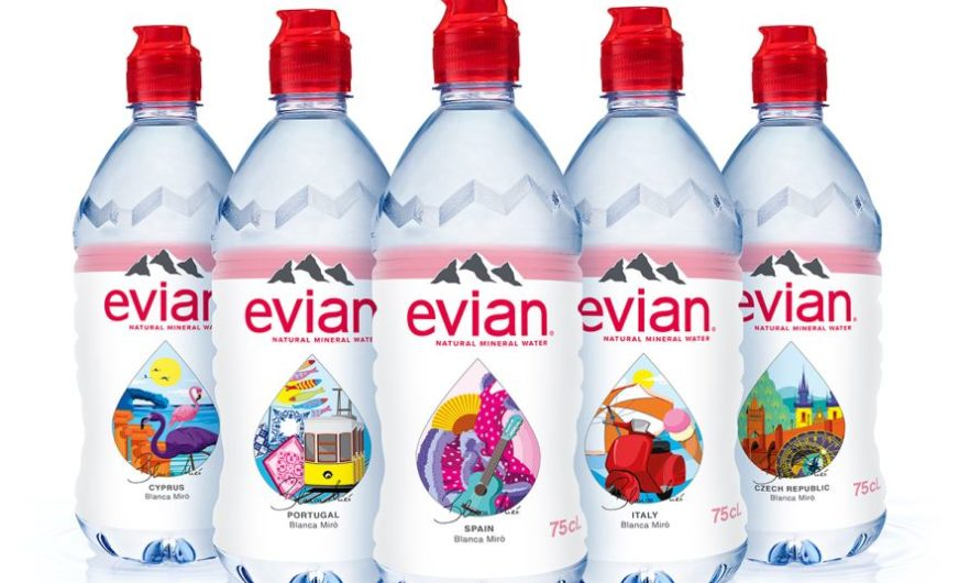 On the track to sustainability: evian and its partners