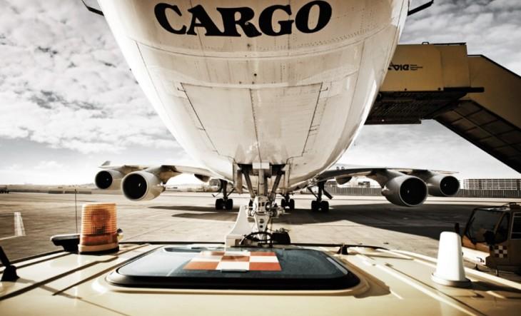 Weniger Air Cargo am Flughafen Wien