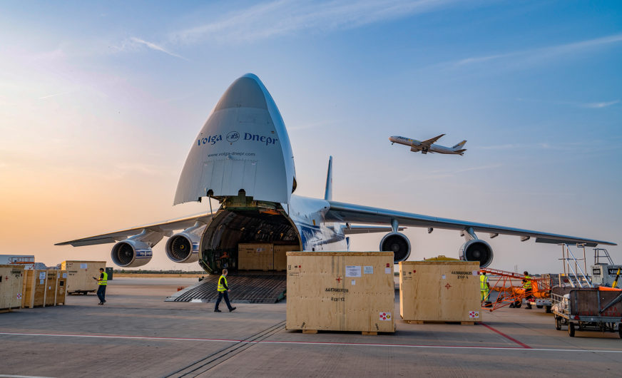 Leipzig/Halle Airport: Cargo handling hits new record