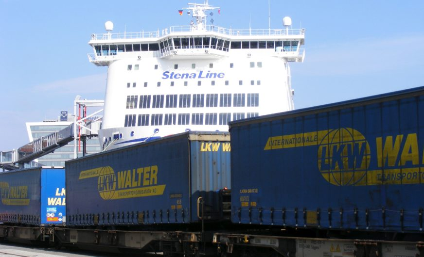 New combined train link including LKW Walter