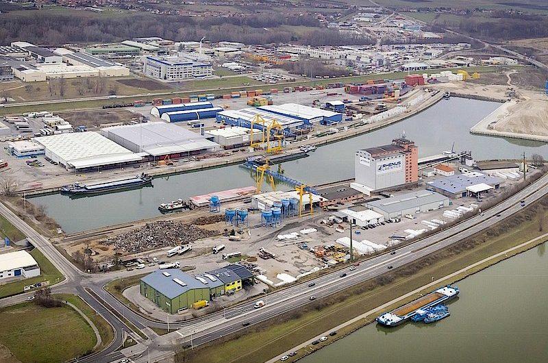 Rhenus Donauhafen Krems: Deutliches Plus beim Bahn- und Schiffsumschlag