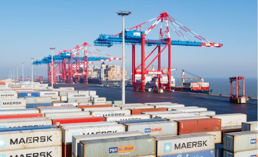JadeWeserPort: Leichter Rückgang im Segment Container